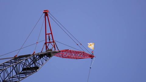 Crane snap zoom Footage