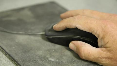 Dusty mousepad Footage