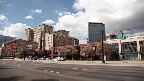 Salt Lake City wide Footage