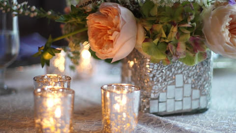 Elegant Centerpiece stock footage