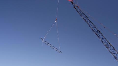 Steel beam lift tight Footage