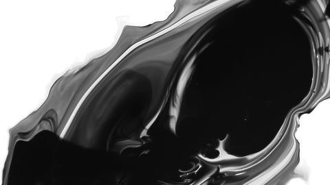 Ink splatter Footage
