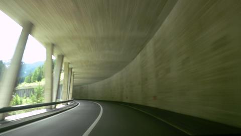tunnel timelapse 12 Footage