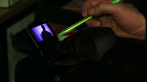 Camcorder, camera monitor Footage