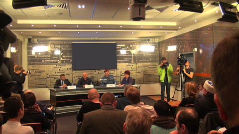 Press conference Footage