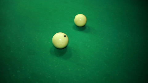 Russian Billiards Footage
