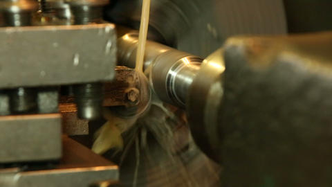 Industrial drilling machine Footage