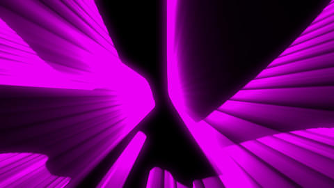 Shimmering laser rays purple vj loop Animation