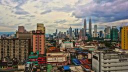 Kuala Lumpur time-lapse HDR Footage
