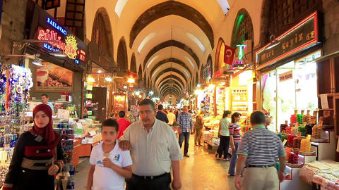 Istanbul Spice Market Footage