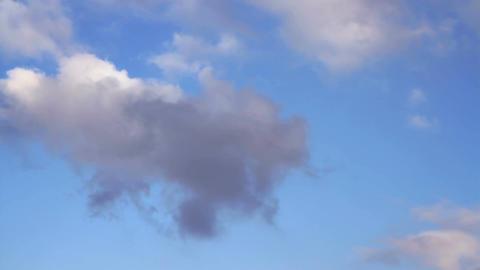 Rain Clouds. 30 sec. timelapse Footage