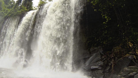 Waterfall Slow Motion stock footage