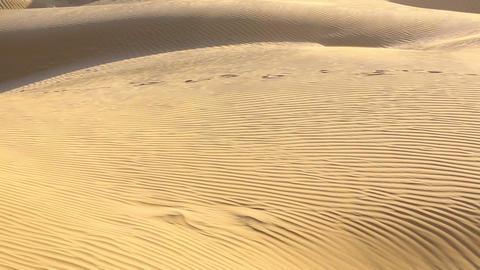 Sand dunes Footage