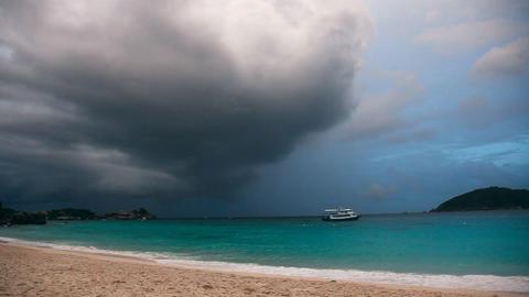 Storm On Ocean Footage