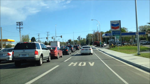 HOV Road Footage