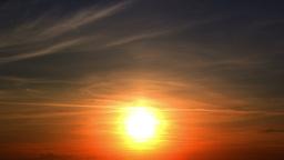 Summer Sunset. Timelapse. 4K Live Action