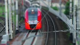 Electric Train tilt Footage