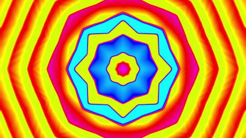 My Trippy Kaleidoscope VJ loop 01 Animation