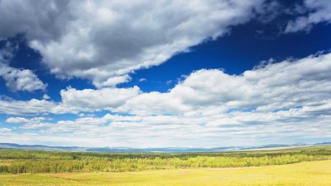 Wild Landscape, TimeLapse stock footage