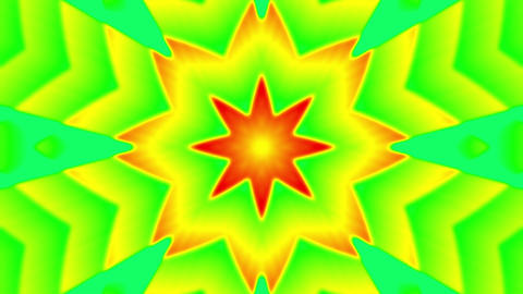 My Trippy Kaleidoscope VJ loop 03 Animation