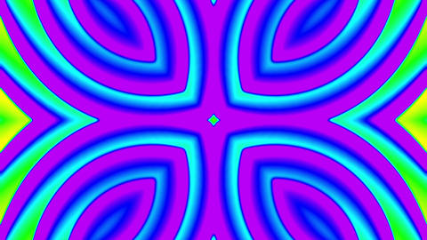 My Trippy Kaleidoscope VJ loop 07 Animation