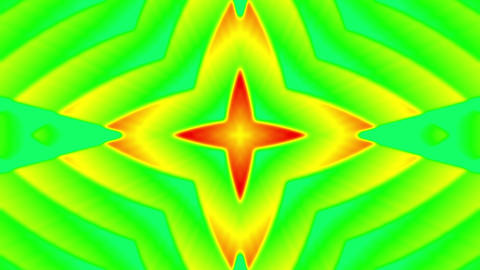 My Trippy Kaleidoscope VJ loop 09 Animation