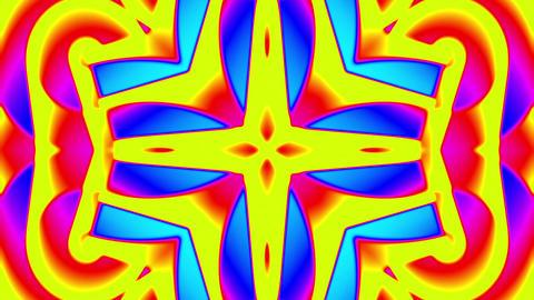 My Trippy Kaleidoscope VJ loop 11 Animation