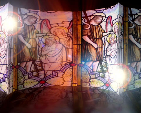 stained glass Animation