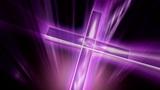 Purple Cross stock footage