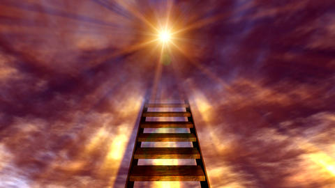 stairway to heaven 2 Stock Video Footage