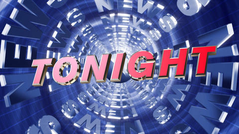 Series News opener - tonight Animation