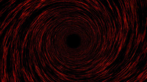 Hypnotic tunnel background Animation