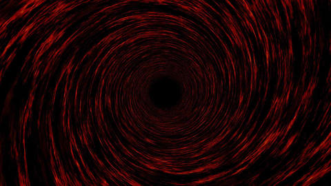 Hypnotic tunnel background Stock Video Footage