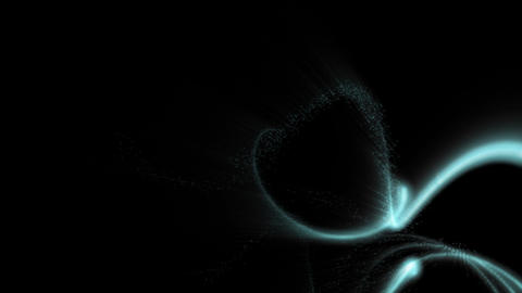 Loopable abstract design over black background Stock Video Footage