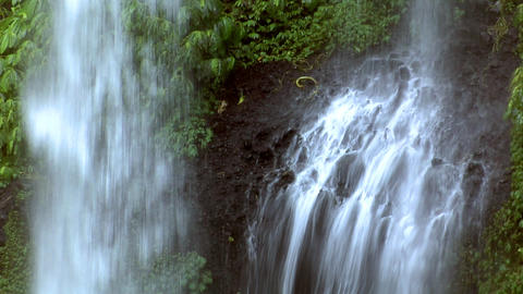 impossible waterfall 2 Stock Video Footage