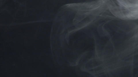 Smoke series: smoke wipe down Stock Video Footage