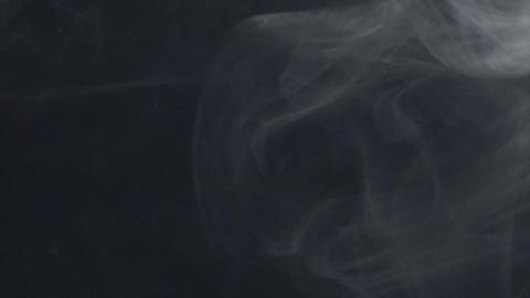 Smoke series: smoke wipe down Stock Video Footage