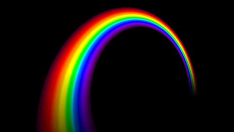 Rainbow C Stock Video Footage