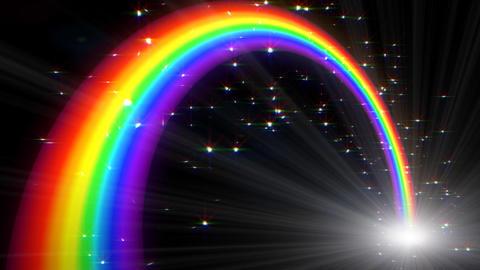 Rainbow C Black L CG動画