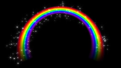 Rainbow CC1 Stock Video Footage