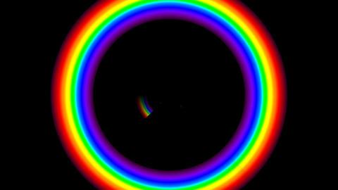 Rainbow F Stock Video Footage