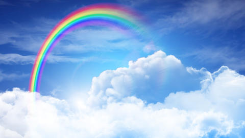 Rainbow Sky A Animation