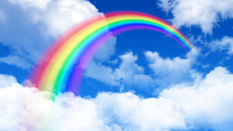Rainbow Sky C HD Animation