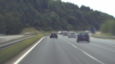 german Autobahn 02 Stock Video Footage