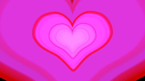 HEART2 TYPE03aHD alphachannel Stock Video Footage