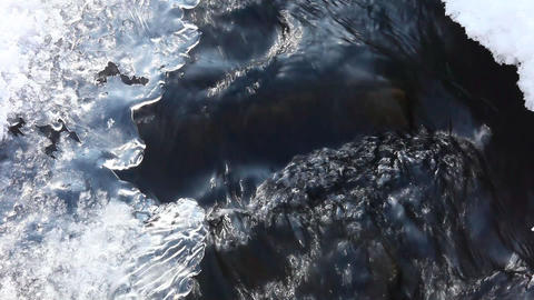 Ice and water Footage