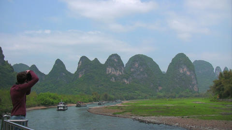Guilin China Stock Video Footage