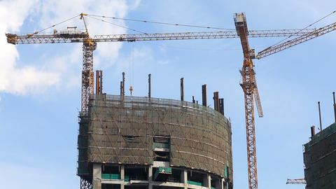 Under Construction Stock Video Footage