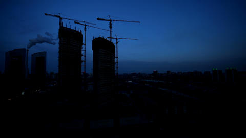 Cityscape Stock Video Footage