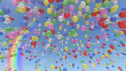 Balloon Ab Rainbow Animation